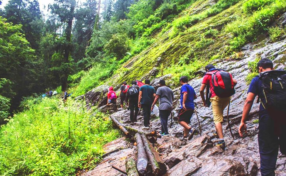 Kasol to Kheerganga Trekking and camping