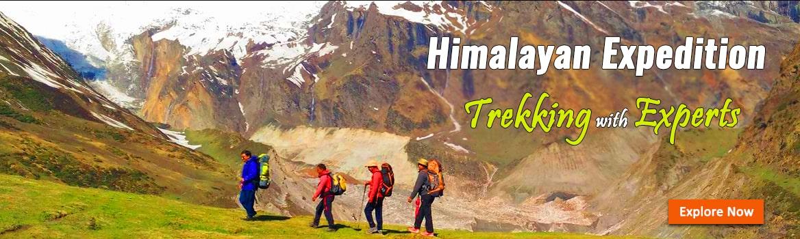 Trekking Uttarakhand Banner